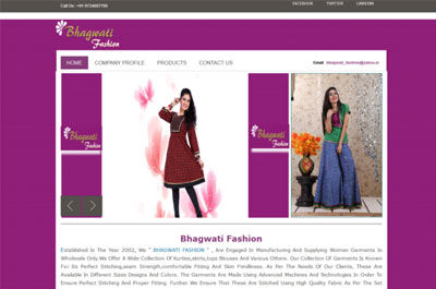Bhagwati Fashion